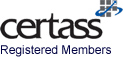 An image of the CERTASS logo to demonstate that Williams Windows are regisered members of this association