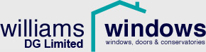 An image of the Williams Windows logo